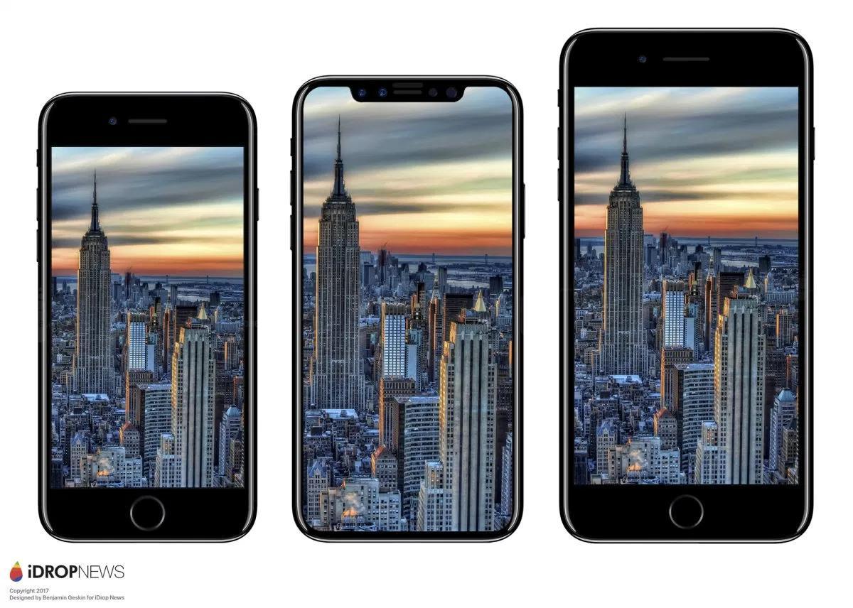 iphone 8 porównanie wielkości telefonu