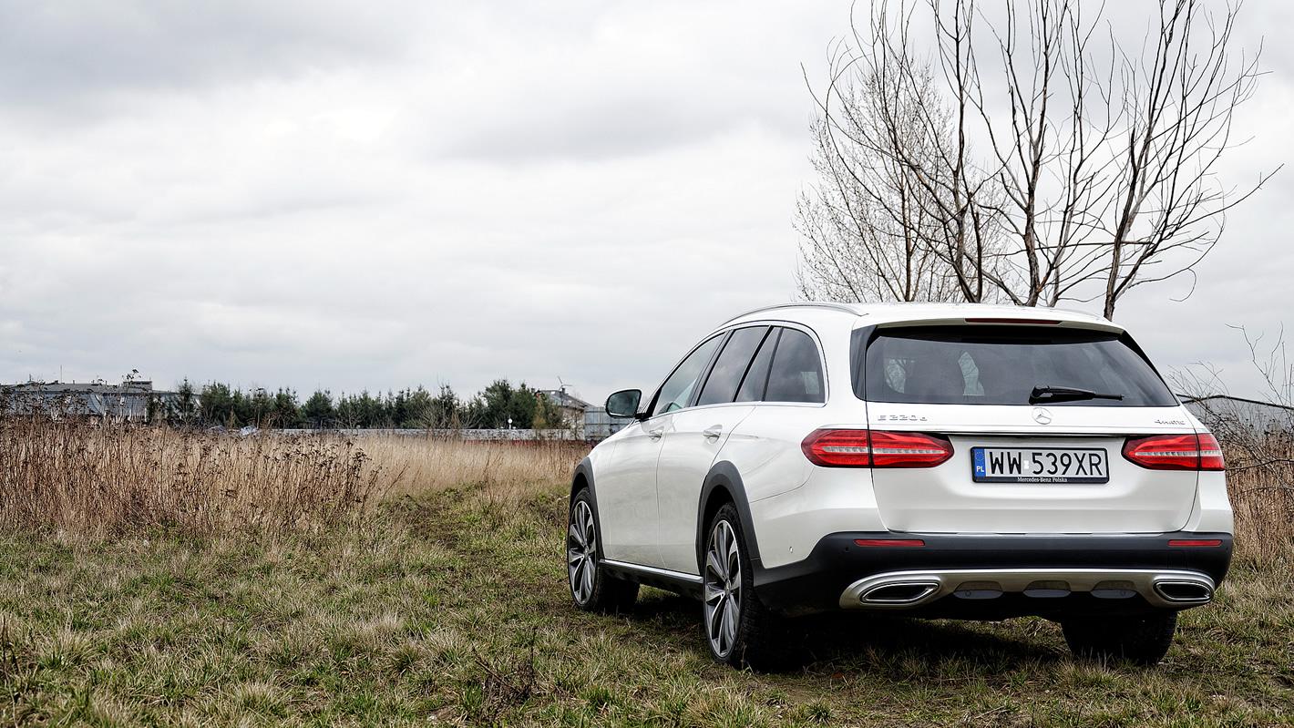 Mercedes-Benz Klasy E All-Terrain - auto w terenie