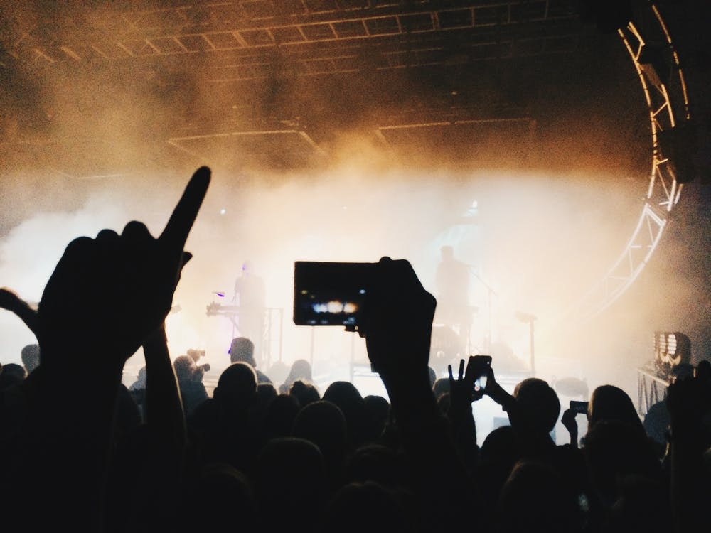 nagrywanie koncertu