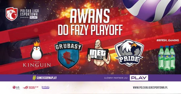 Polska Liga Esportowa - Awans Playoff - Antyweb
