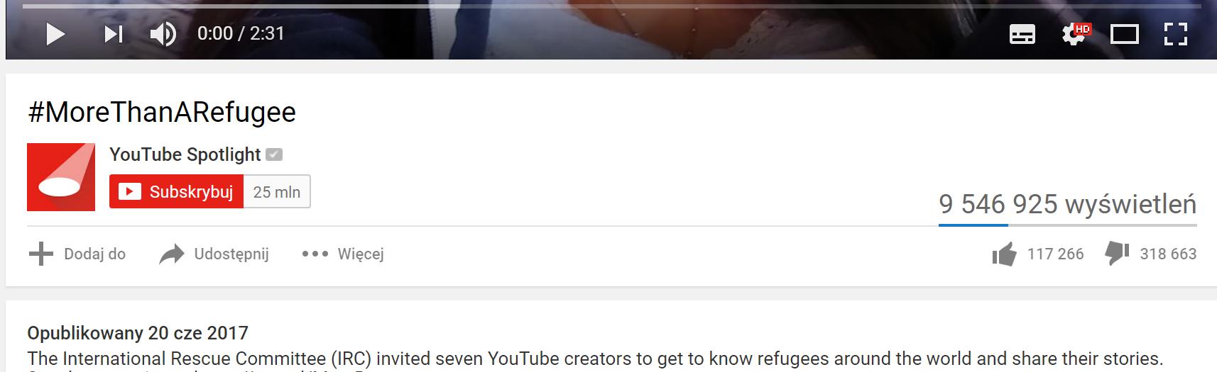 youtube morethanarefugee