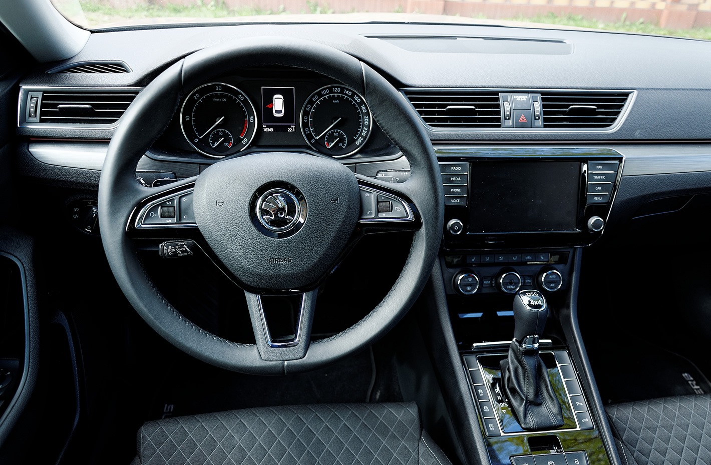 Škoda Superb - kierownica