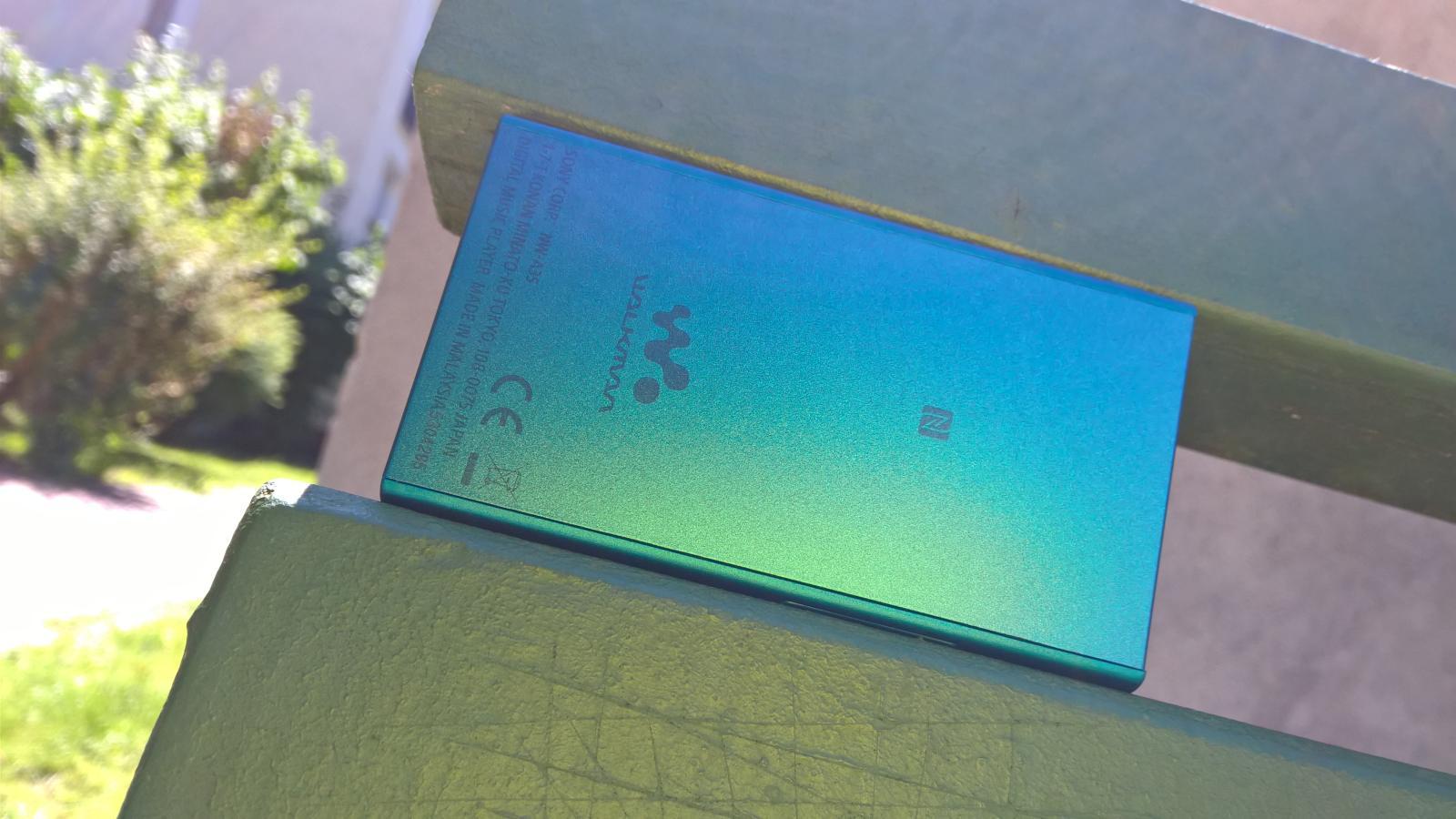 Sony Walkman NW-A30 wykonanie