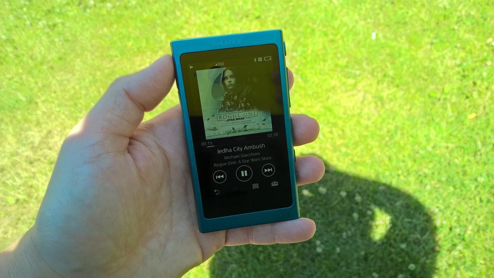 Sony Walkman NW-A30 interfejs