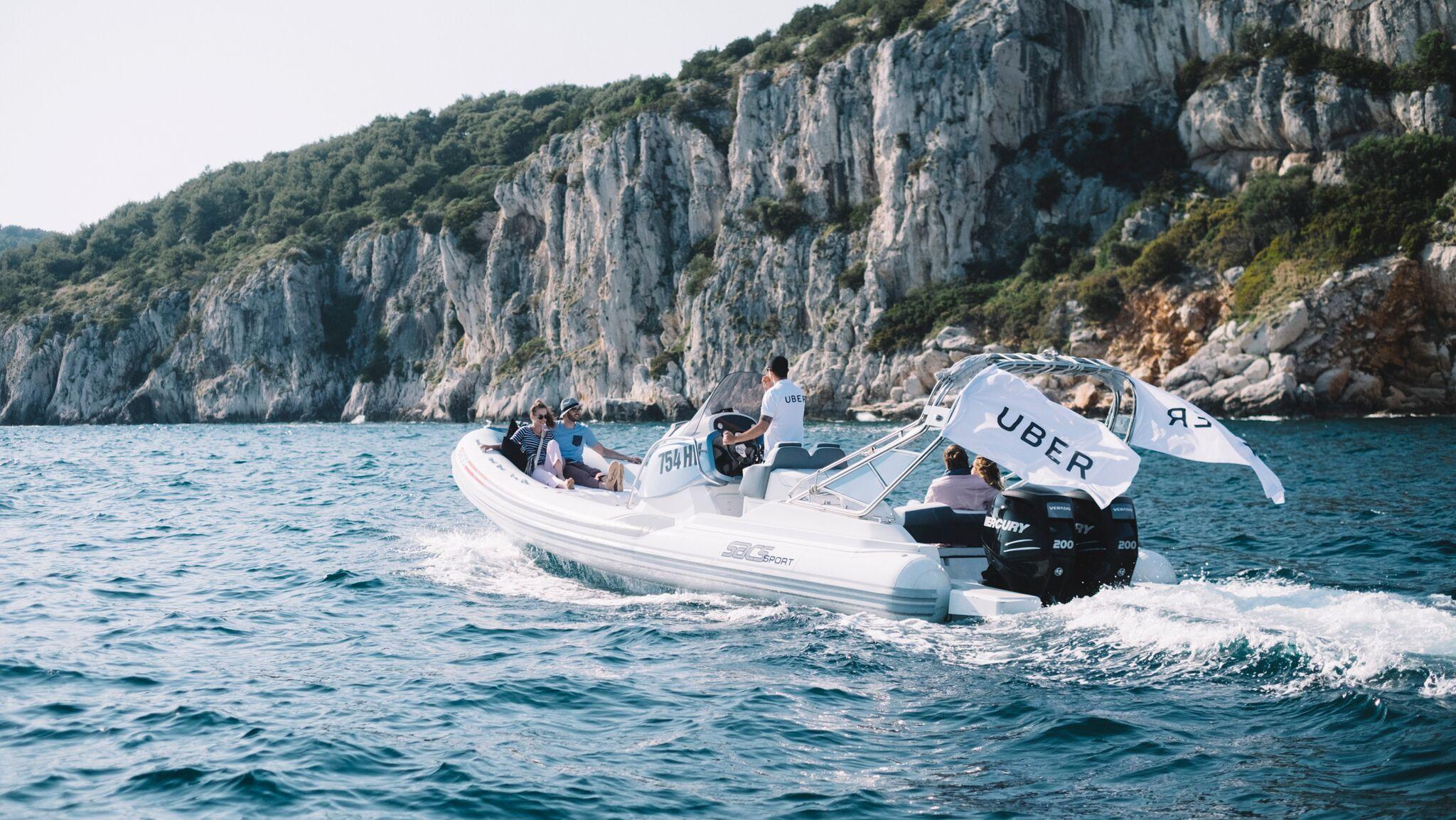 uberBOAT prezentacja łódki