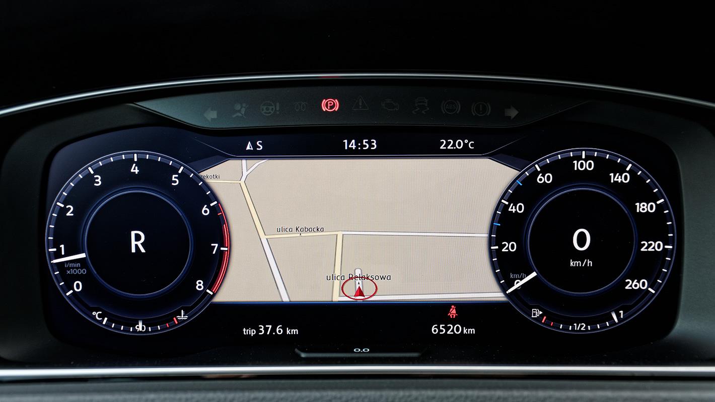Volkswagen Golf Active Info Display
