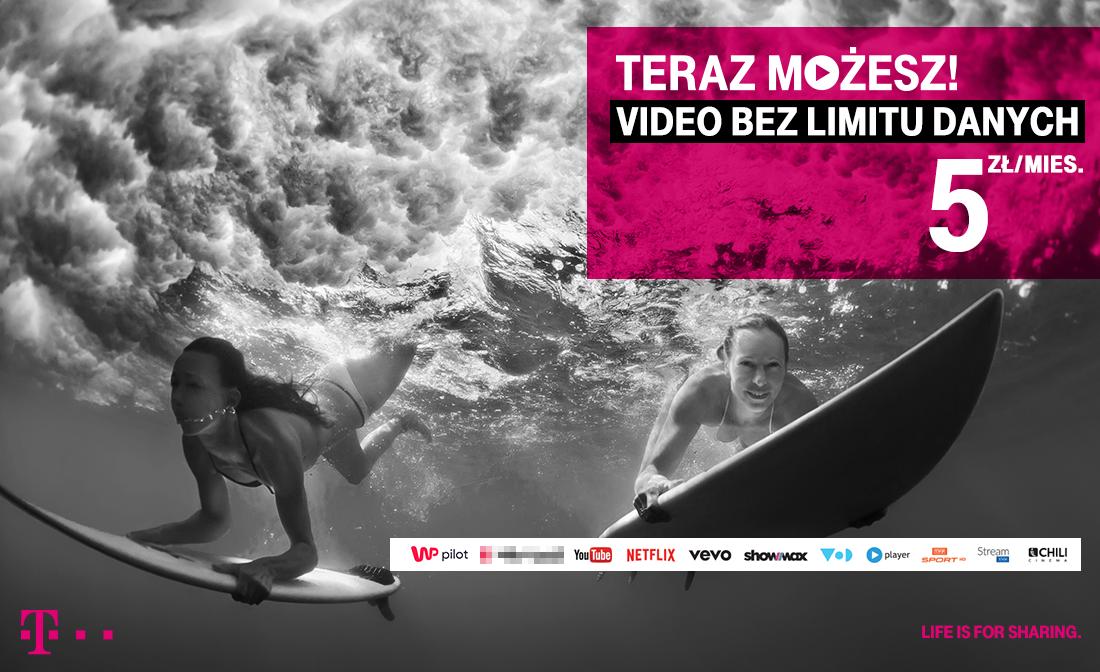 video bez limitu danych t mobile grafika