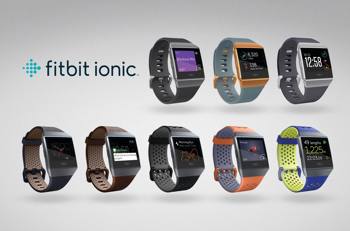 fitbit ionic smartwatche
