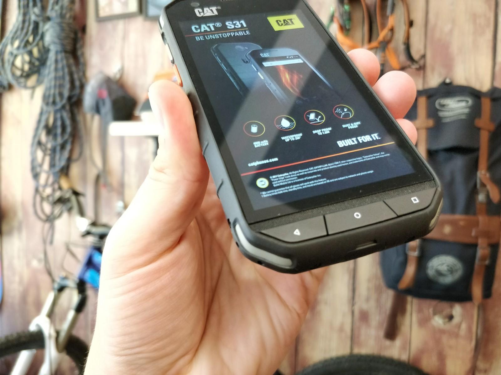 smartfon CAT S31 wygląd