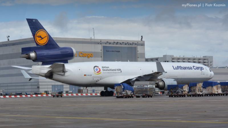lufthansa samolot cargo
