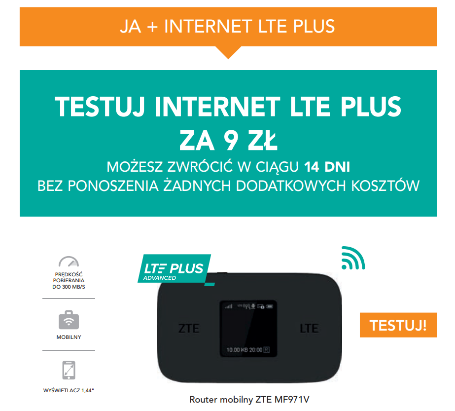 ja+ internet lte plus grafika