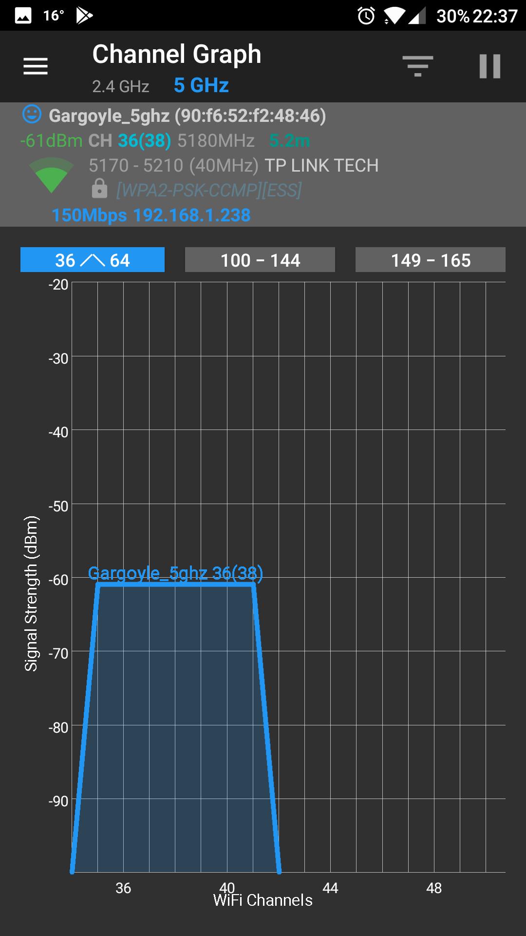 grafika, wykres sieci wifi