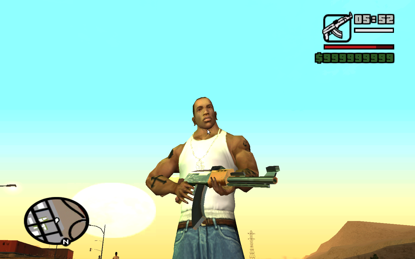 screenshot z gry gta vice city