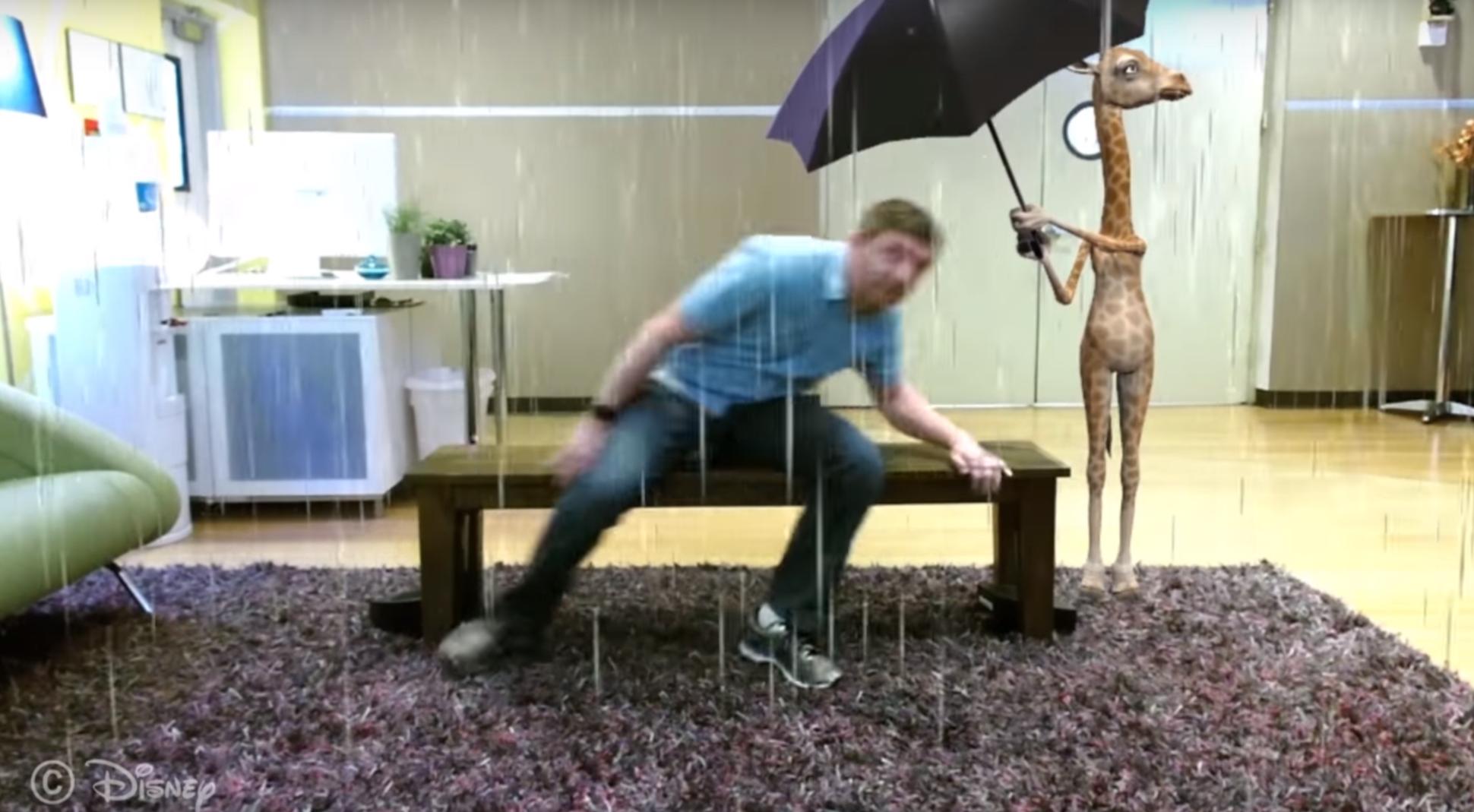 ławka od Disney - prezentacja