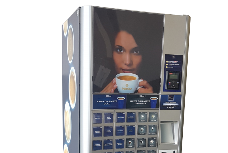 Automat Dallmayr do kawy