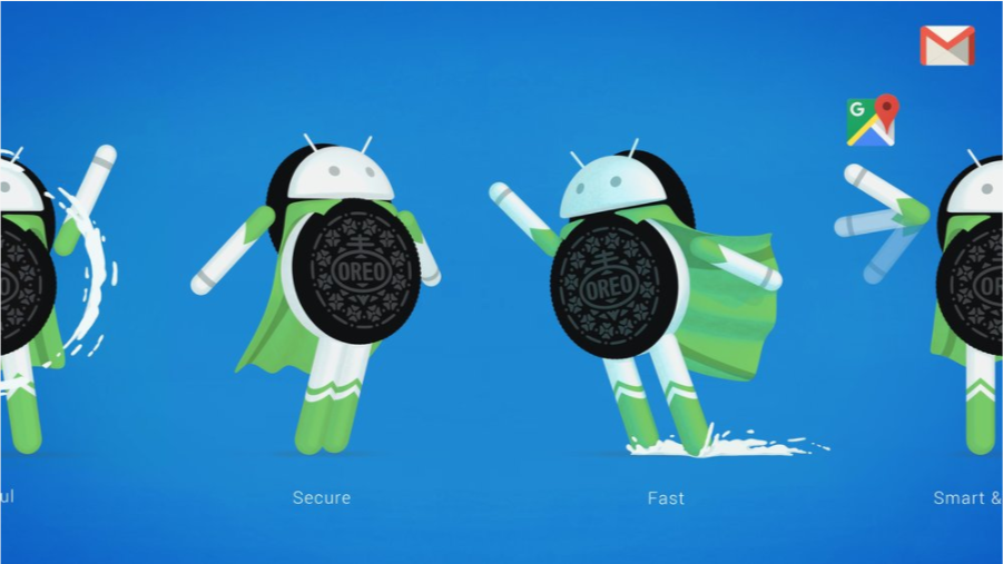 Android 8.0. oreo bezpieczny, szybki grafika