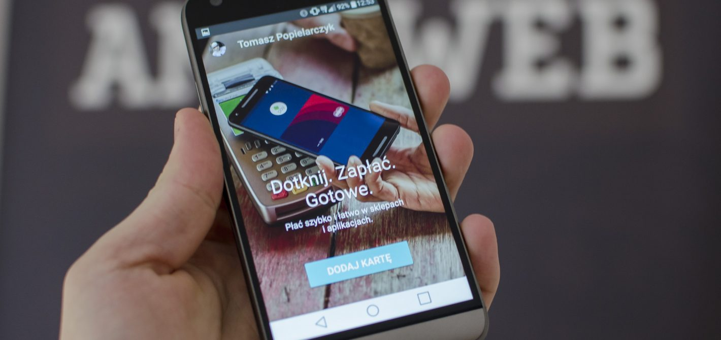android pay dodaj kartę