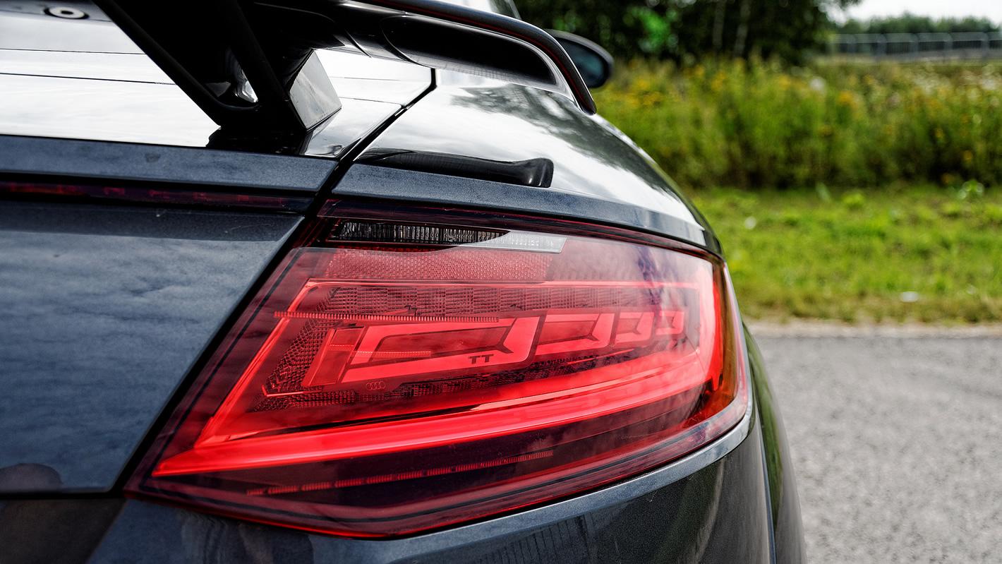 Audi TT RS - tylna lampa