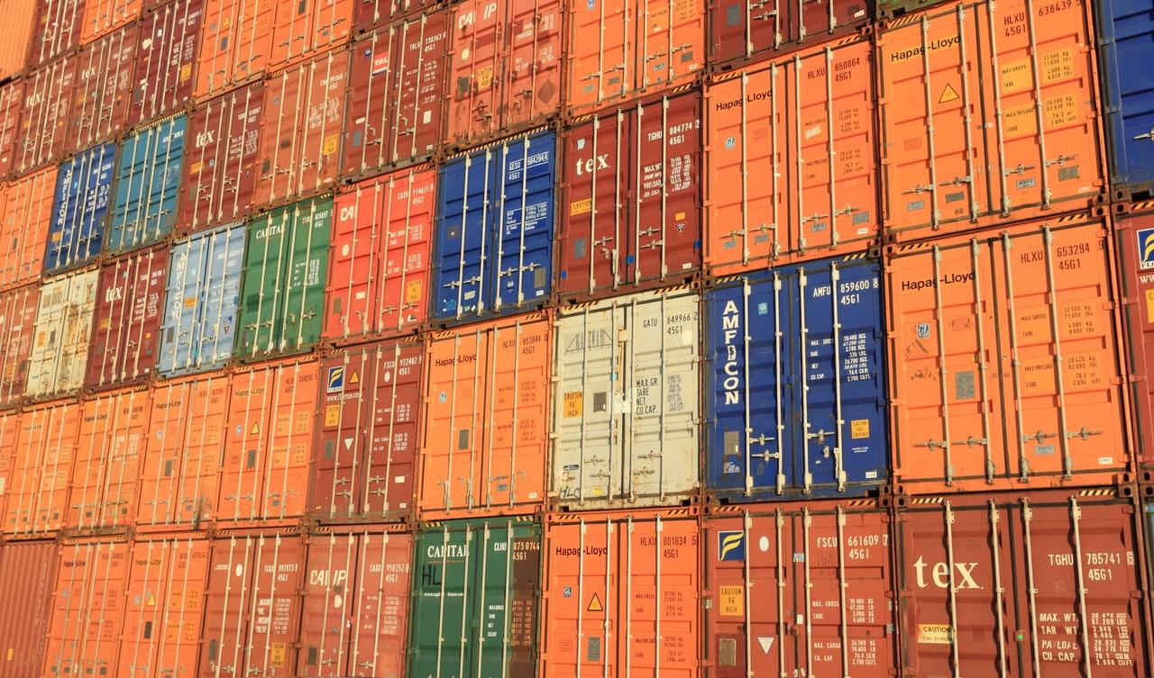 kontenery wysyłkowe