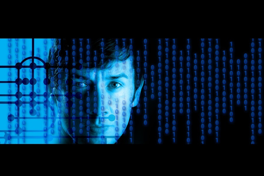 haker kod binarny