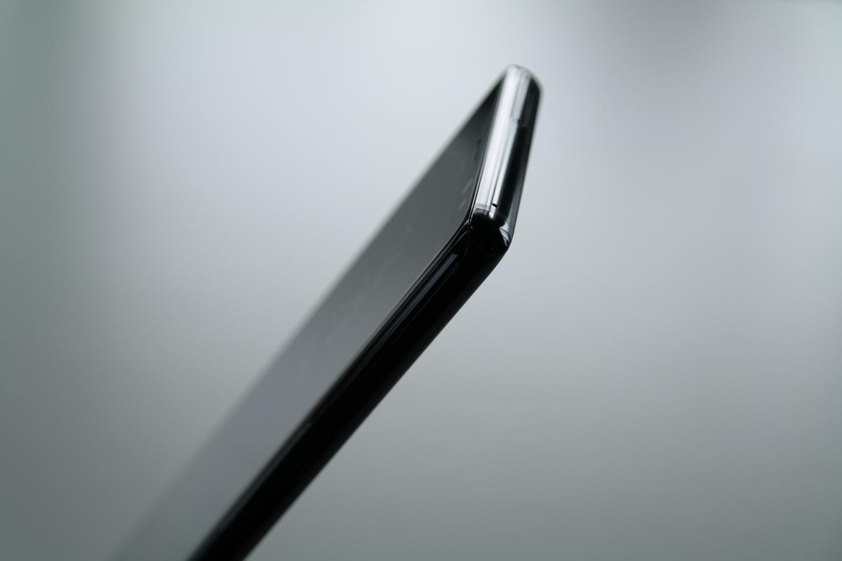 Samsung Galaxy Note 8 — profil urządzenia z góry