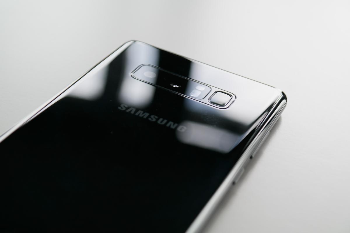 Samsung Galaxy Note 8 — dwa aparaty fotograficzne