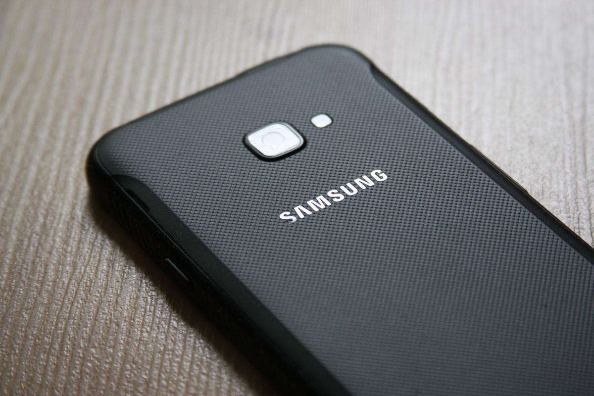 Samsung Galaxy Xcover 4 - tylny aparat