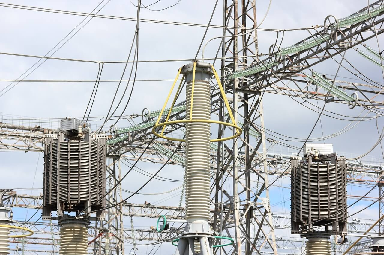 elektrownia prąd transformatory