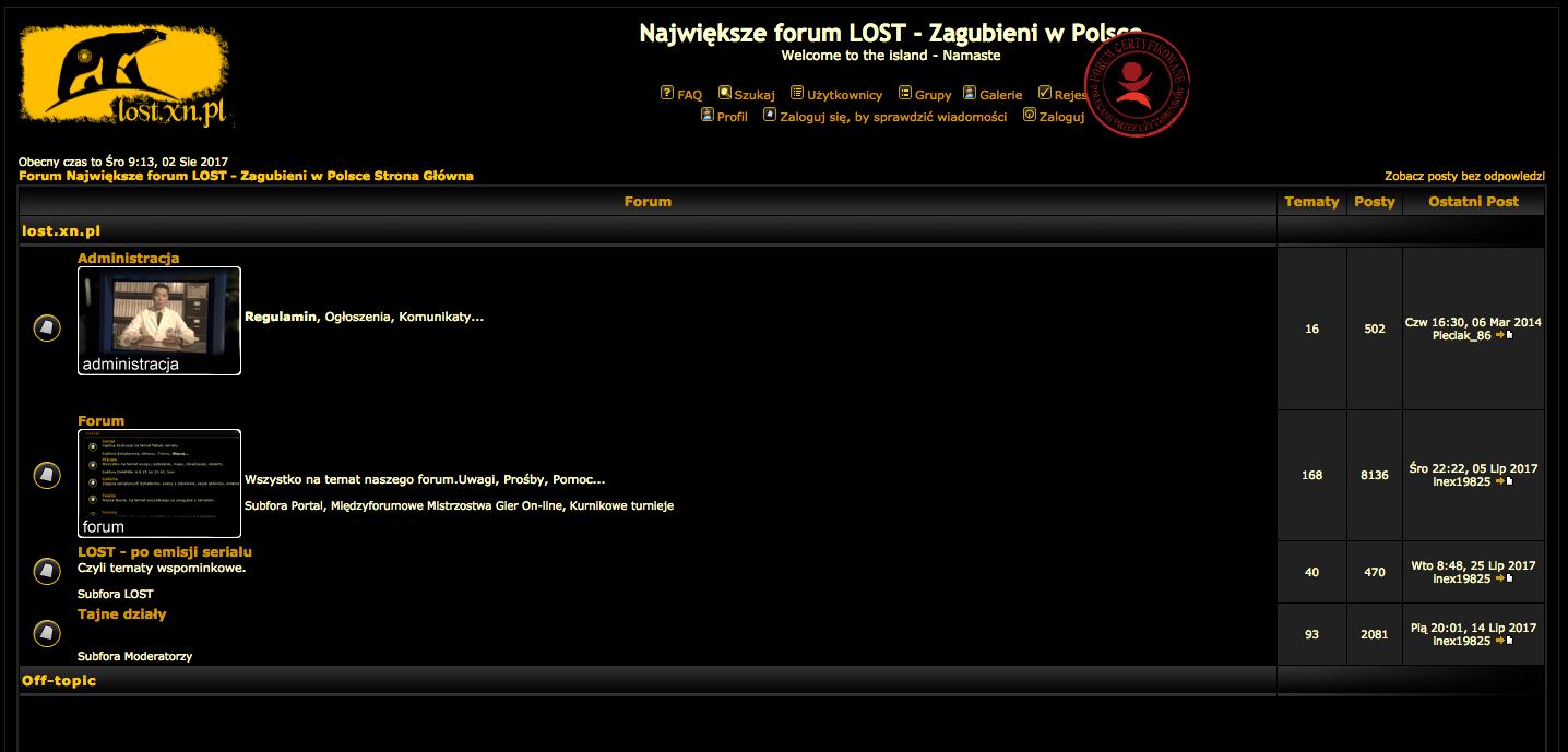 najwieksze forum lost zagubieni w polsce