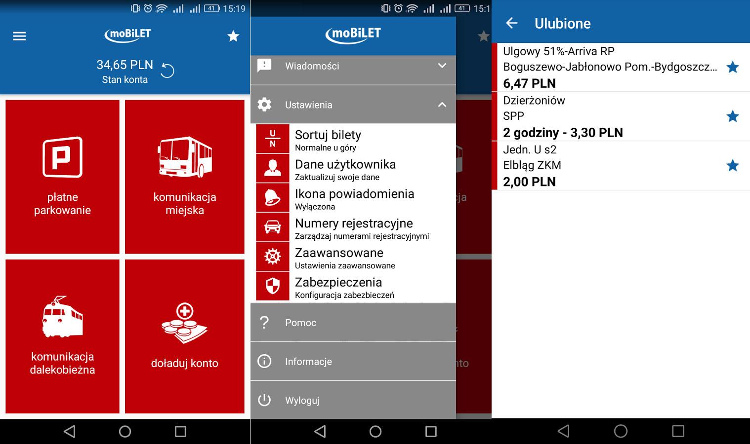 MoBiLET aplikacja na android i ios