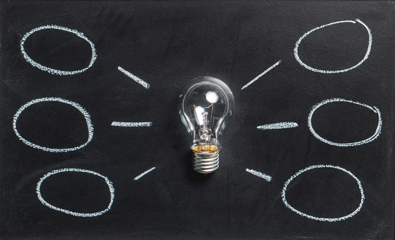 żarówka i pomysły
