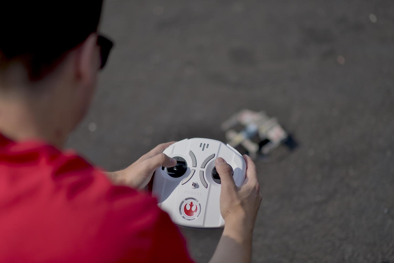 sterowanie dronem start wars propel