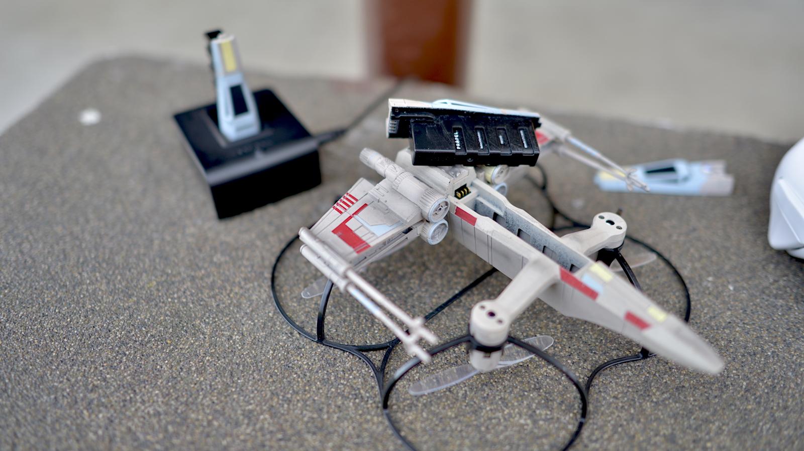 zestaw star wars propel - dron