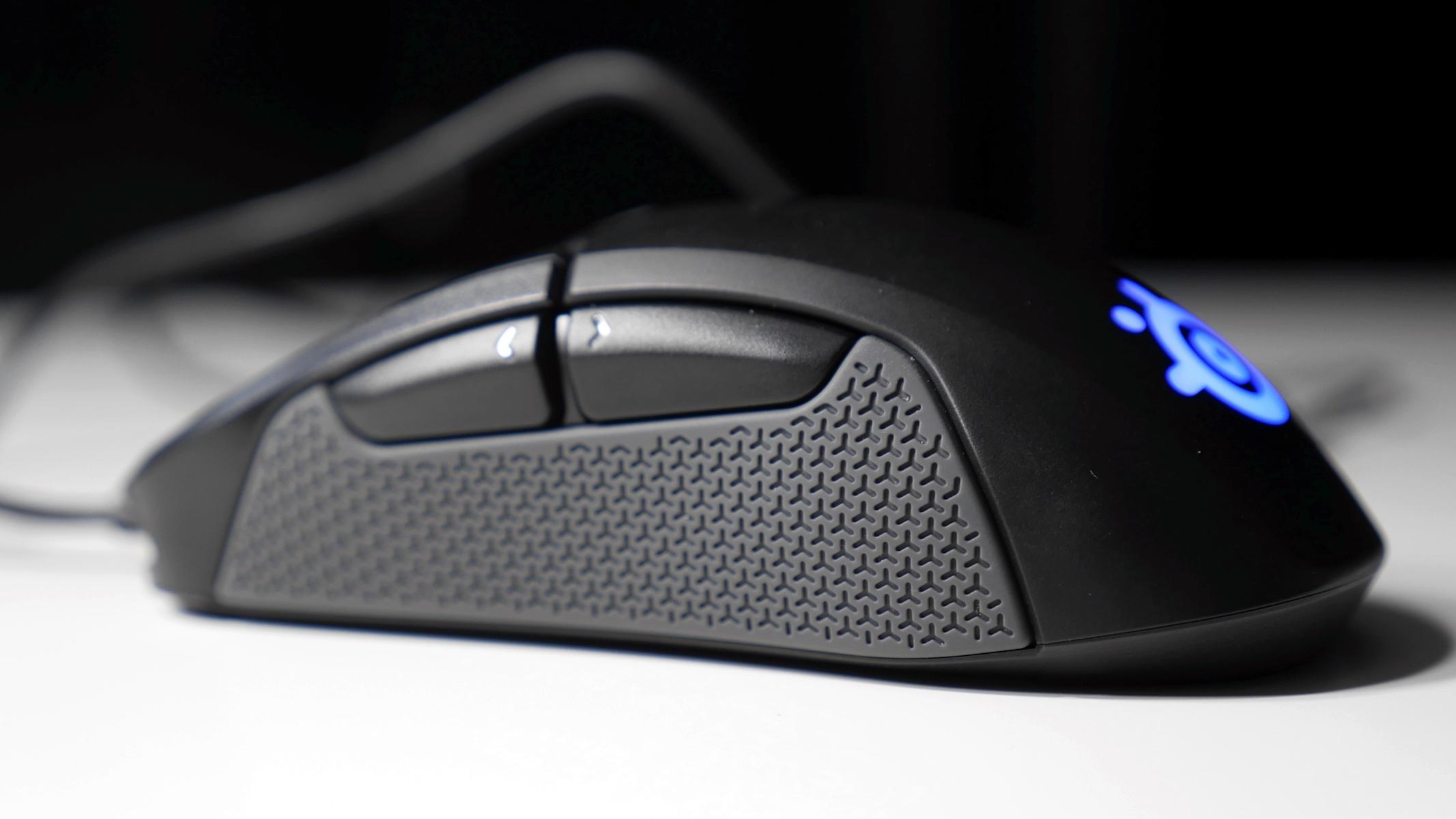 mysz steelseries rival 310 niebieskie podświetlenie