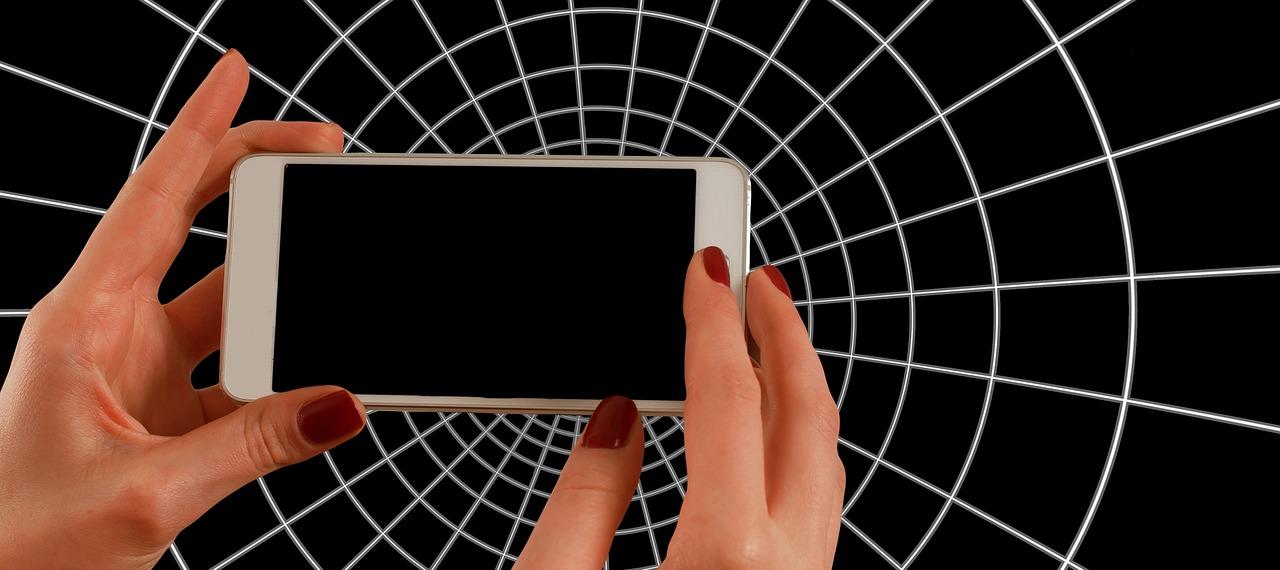 smartfon i sieć