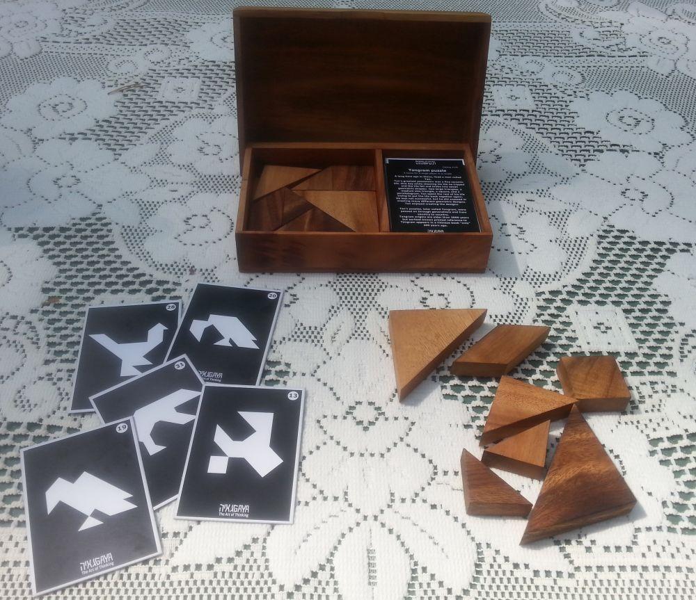 tangram prezentacja zawartości gry