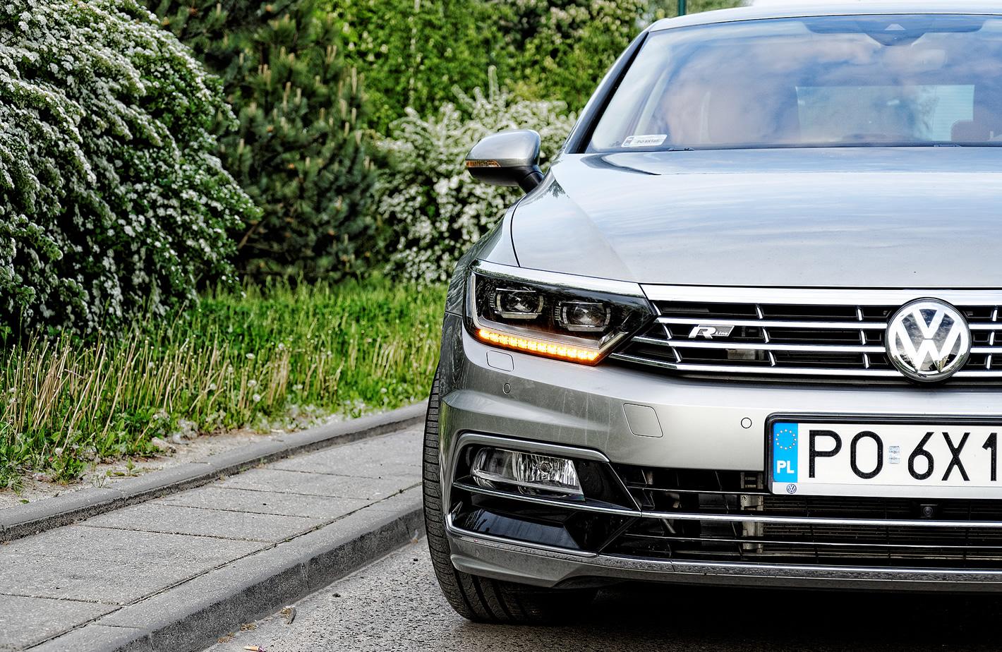 Volkswagen Passat 2.0 TSI 4Motion od przodu