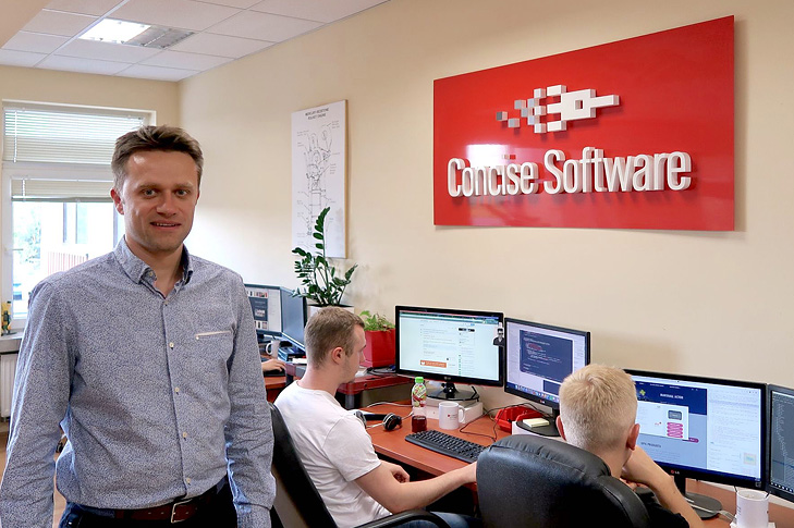 Łukasz Hostyński, CEO Concise Software
