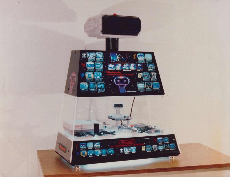 nintendo rob display