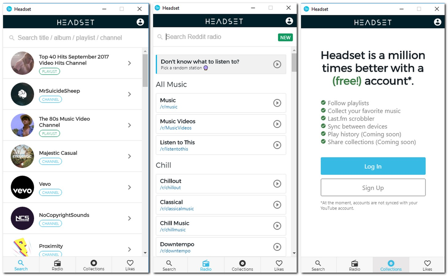 interfejs Headset na smartfonie