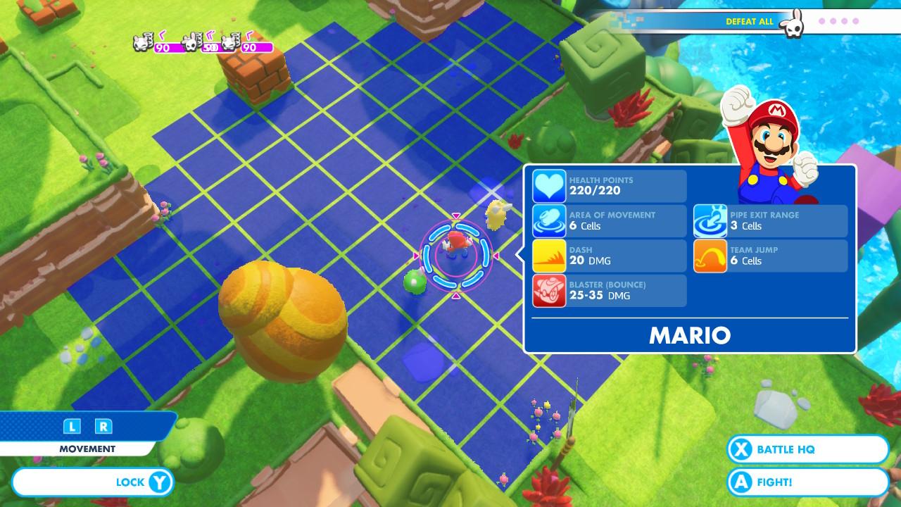 Mario + Rabbids: Kingdom Battle - wygląd gry