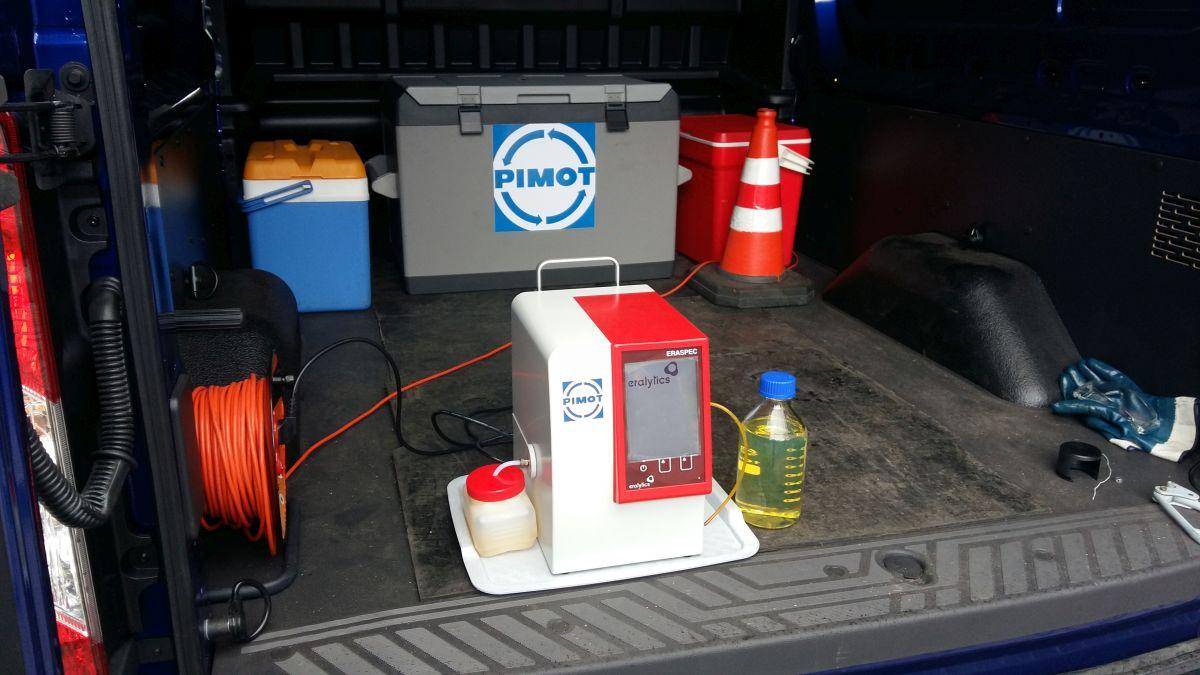 tankuj24 samochód urządzenie - badanie paliwa
