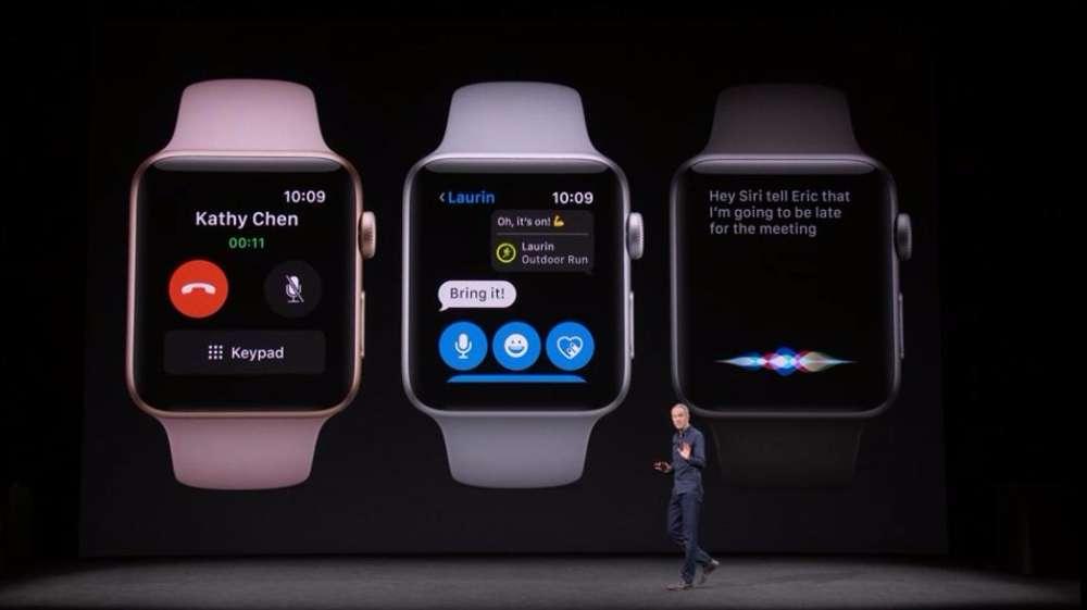 apple watch 3 funkcje rozmowy