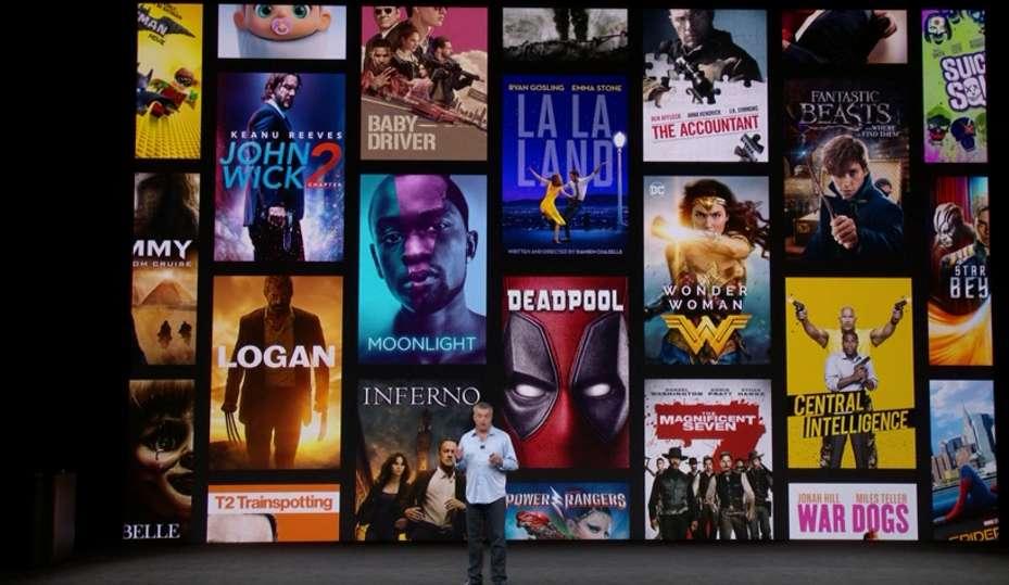 netflix prezentacja filmów