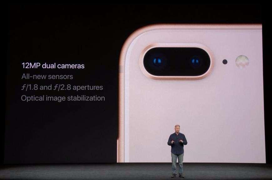 nowy iphone X prezentacja - aparat