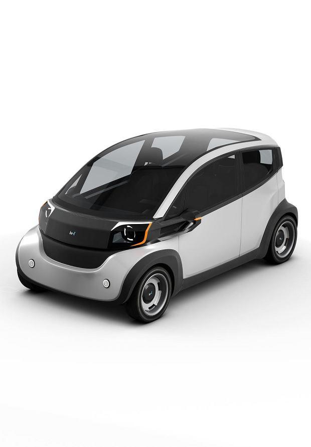 projekt samochodu elektrycznego - Be-E