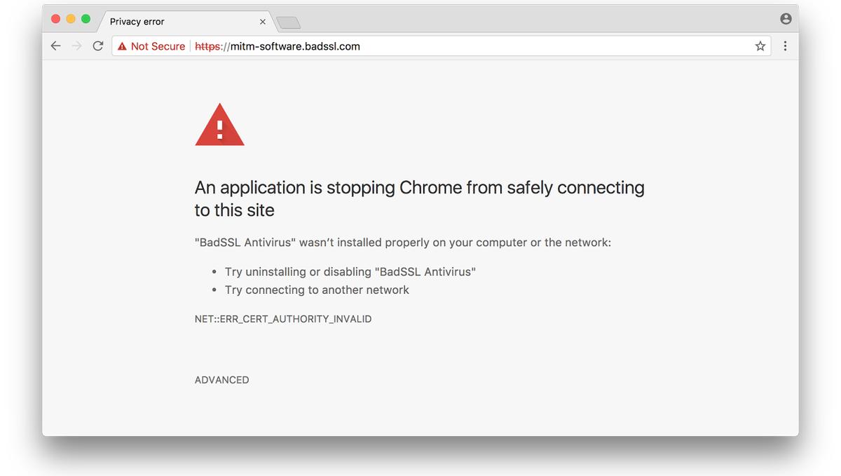 blokada google chrome niebezpieczna strona