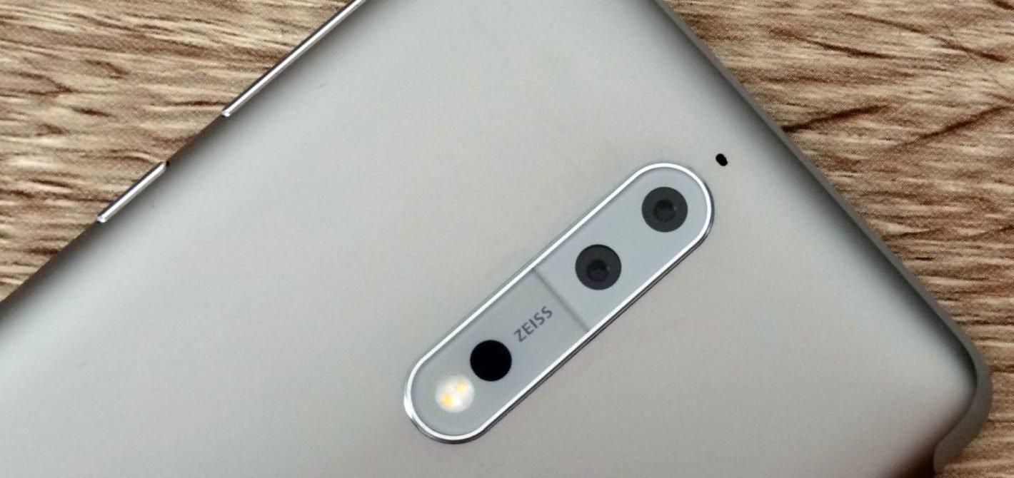 Nokia 8 - tył smartfona