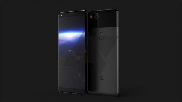 google pixel - wygląd smartfona od google
