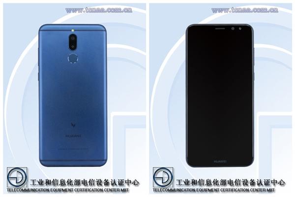 Huawei Mate 10 - wygląd z przodu i z tyłu